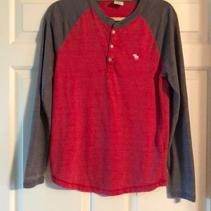 Abercrombie & Fitch Henley T-shirt - Xs